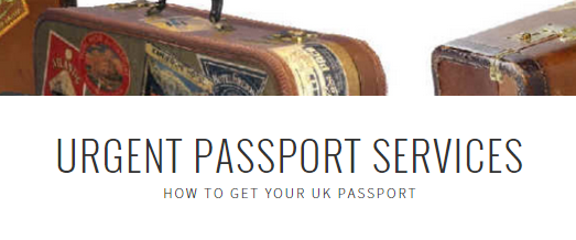 UK Passport Website