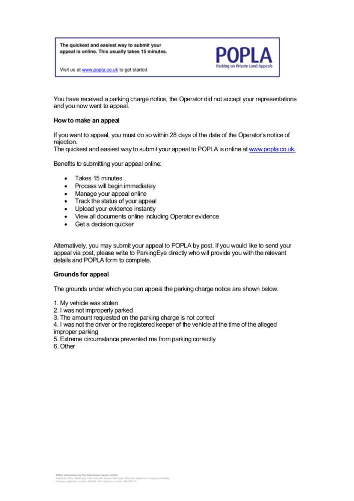 click image for larger version name pe appeal rejection letter with popla code 2