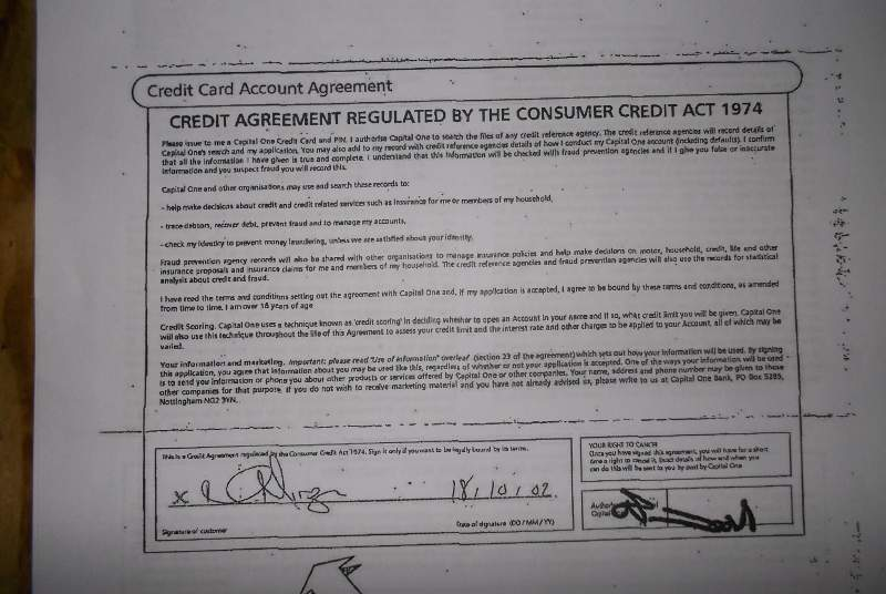 Capital One Credit Agreement Is This Enforceable  Legalbeagles