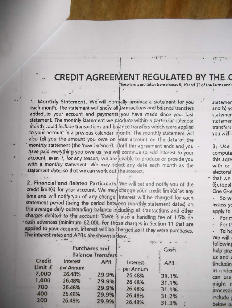 Capital One Credit Agreement This Enforceable Legalbeagles