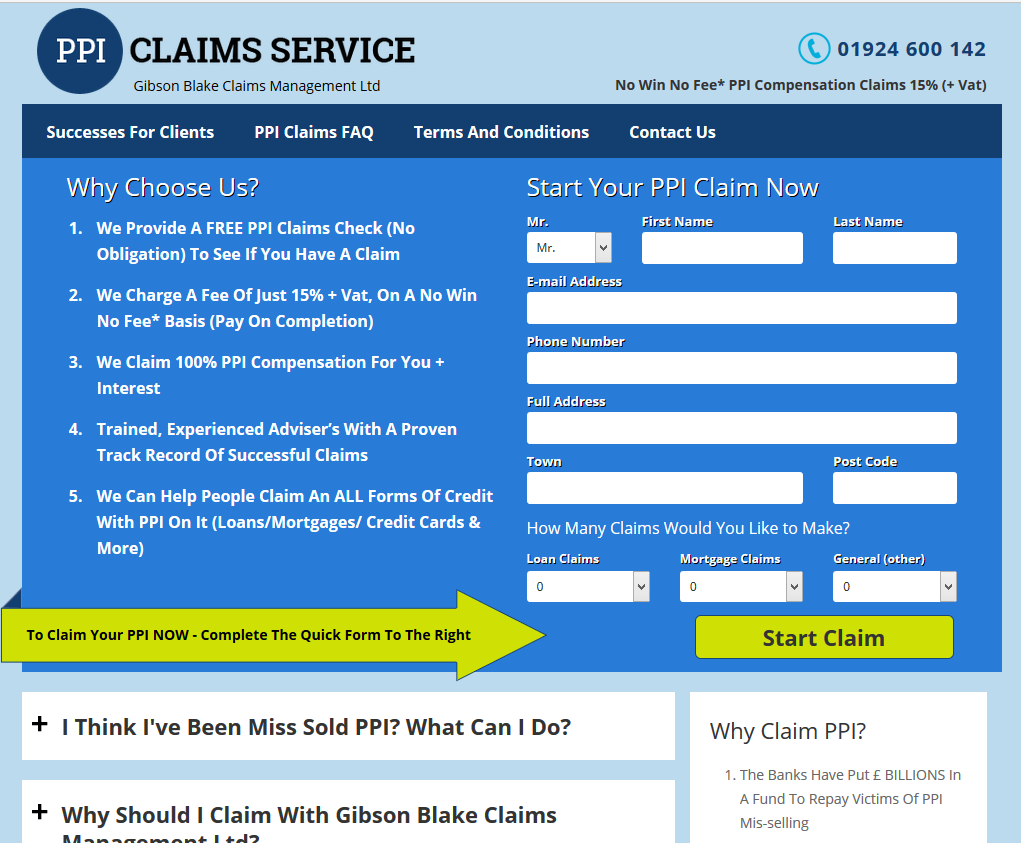 Claim Ppi Yourself Template | Claim Ppi Yourself Template 28 Information Templates Word Business
